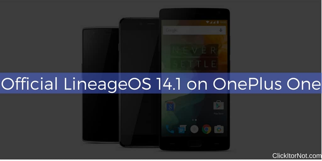 Oneplus One Lineageos