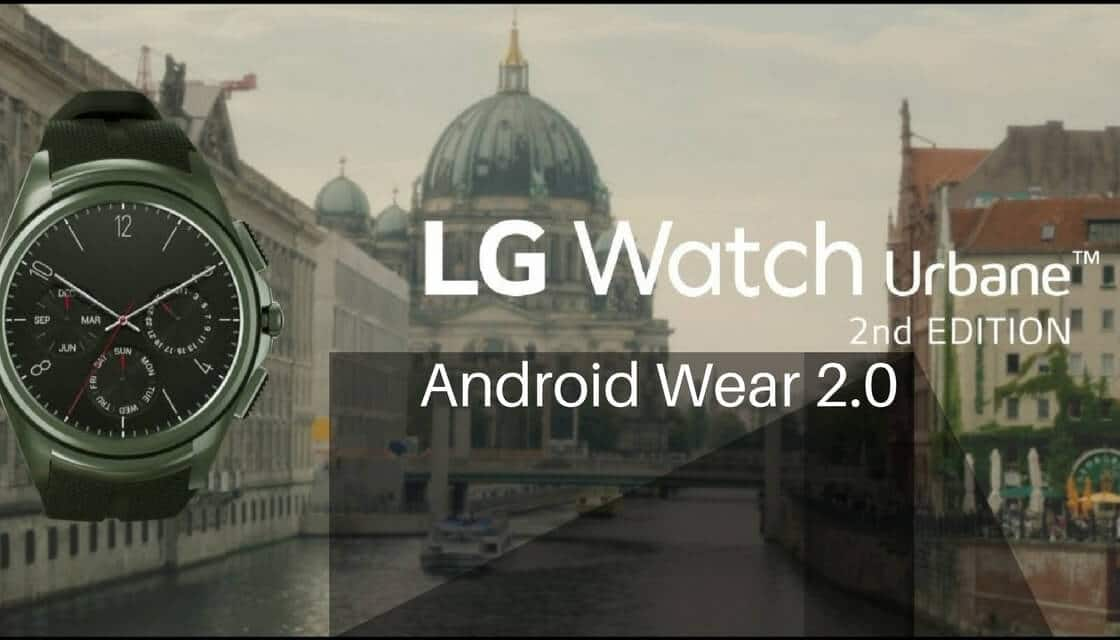 Android Wear 2.0 on LG Watch Urbane 2nd Edition