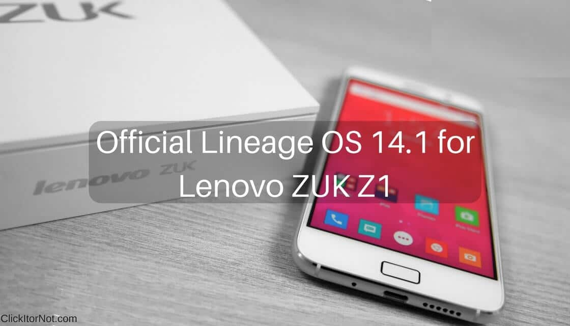 Image result for lineage os 14.1 on zuk z1