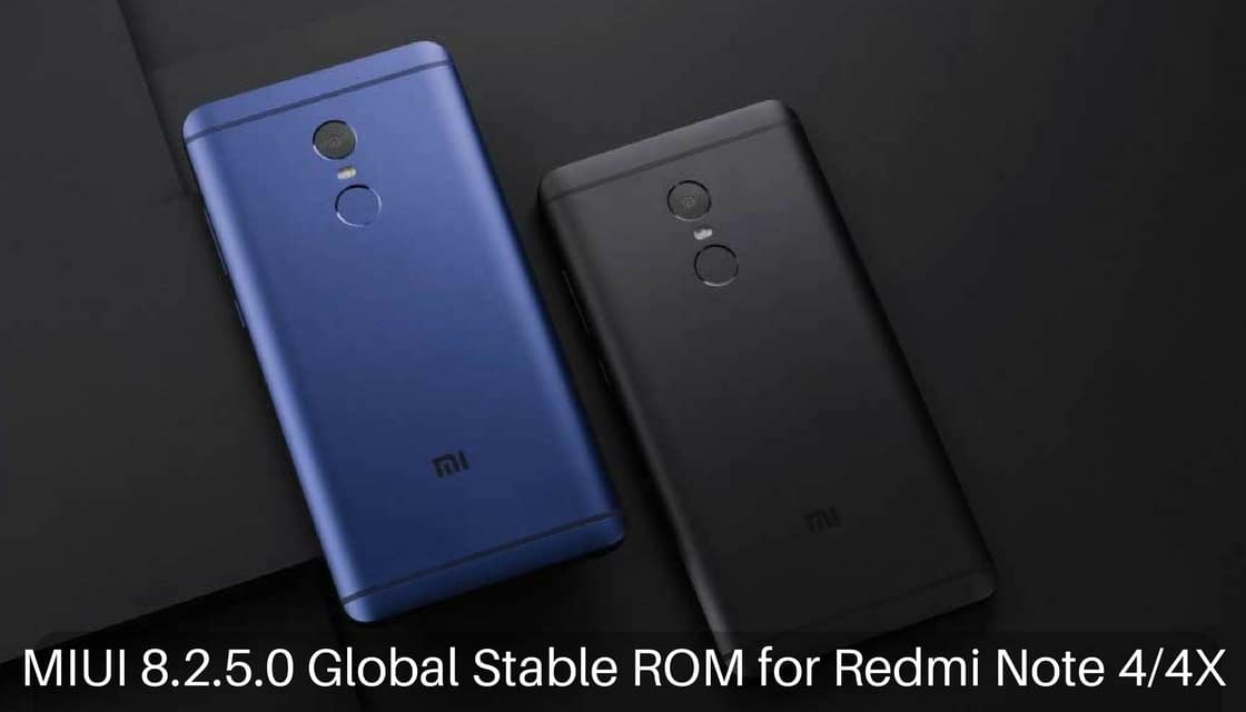 Download and Install MIUI 8 2 5 0 Global Stable ROM on Redmi Note 4
