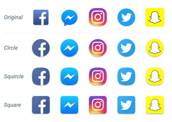 android Oreo Adaptive Icons