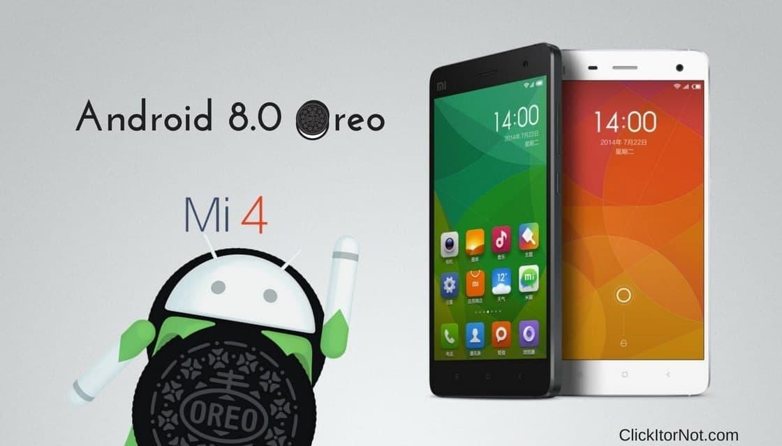 Android 8.0 Oreo on Mi 4