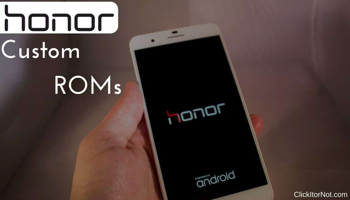 InstallCustom ROMs for Huawei Honor 9