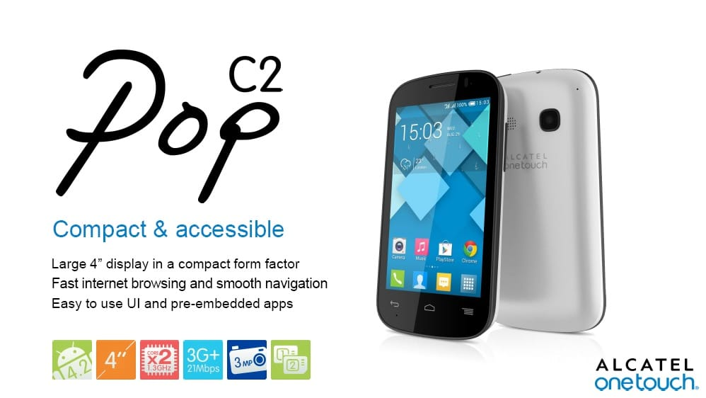 unlock bootloader on Alcatel POP C2