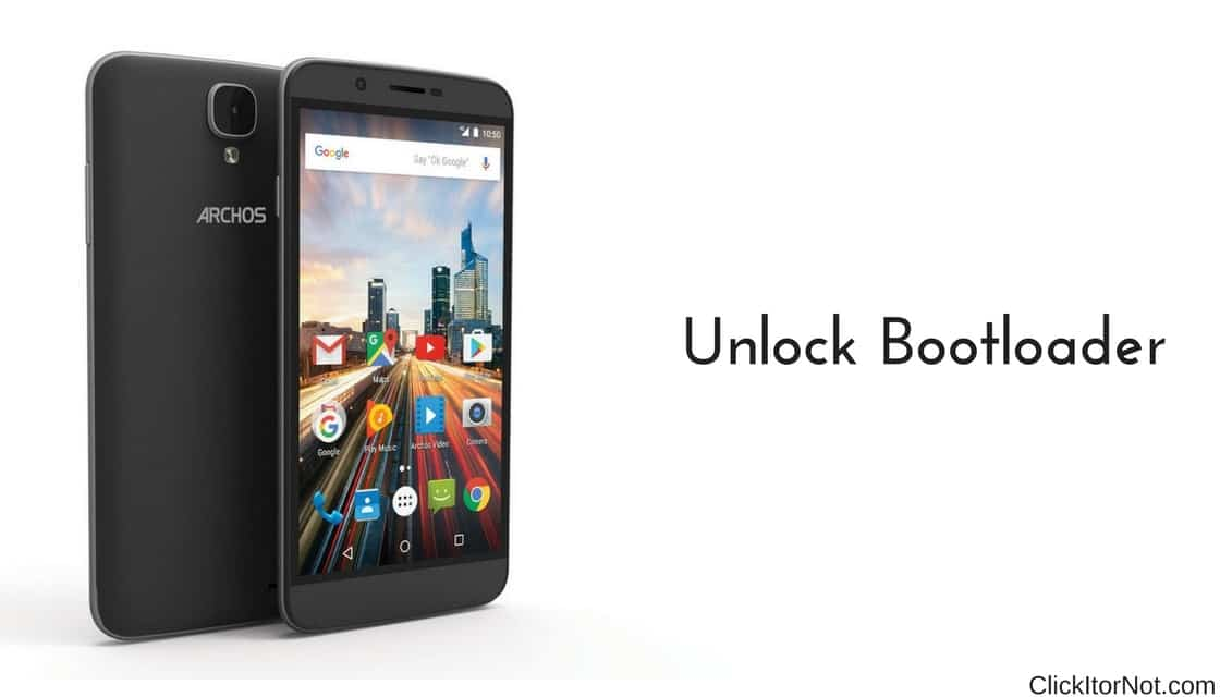 How to Unlock Bootloader on Archos Device | Click It or Not
