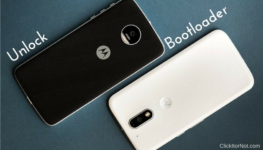 Unlock Bootloader on Moto Device
