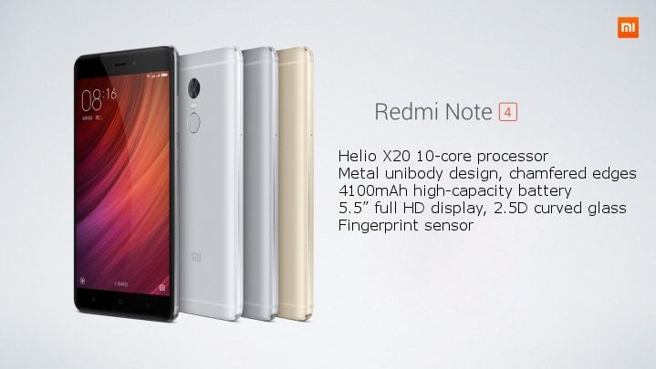 List of Best Custom ROMs For Xiaomi Redmi Note 4 MTK | Click