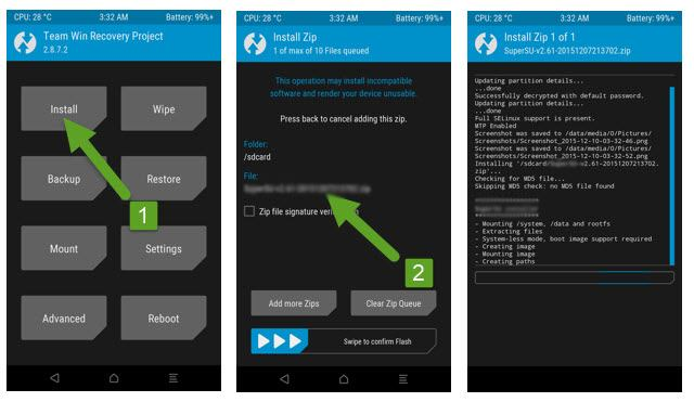 How to Install TWRP Recovery and Root Moto G5S Plus [sanders