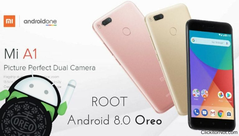 Root Xiaomi Mi A1 on Oreo