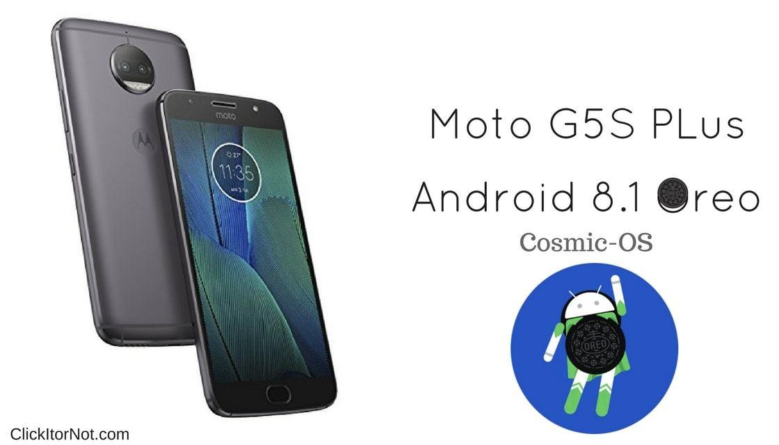 Android 8.1 Oreo on Moto G5S Plus