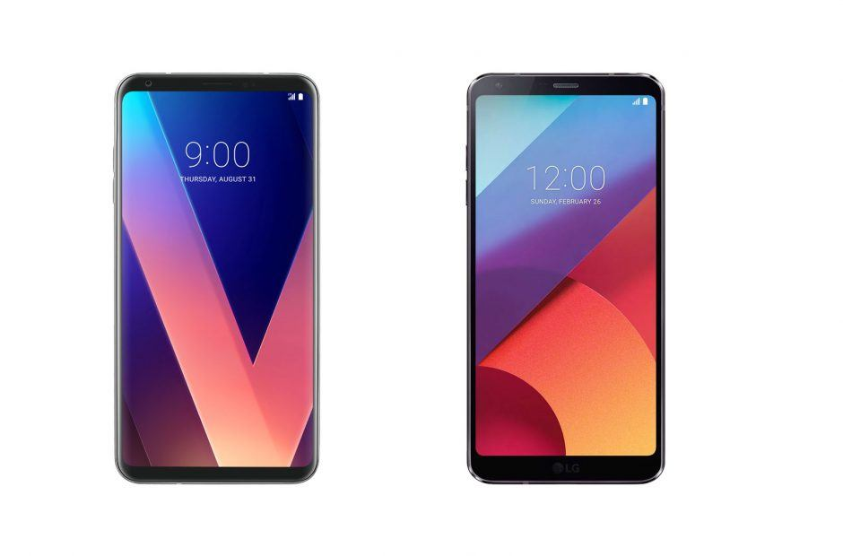 LG G6 and LG V30 to receive the Android 8 1 Oreo Update