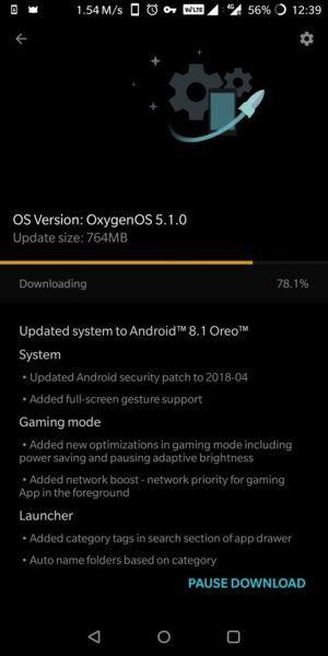 OxygenOS 5.1.0