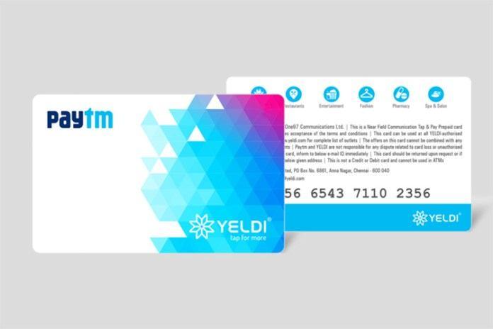 Paytm Tap Card