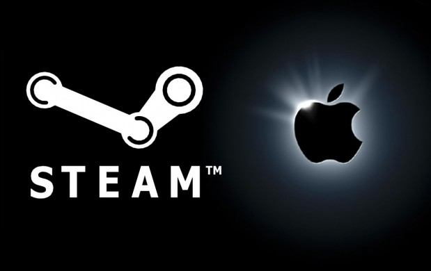 steam apple