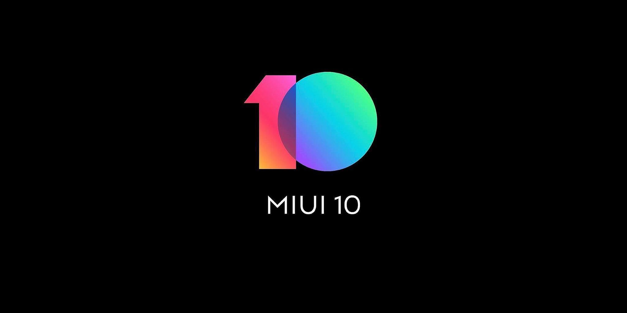 MIUI 10 update 8.6.6