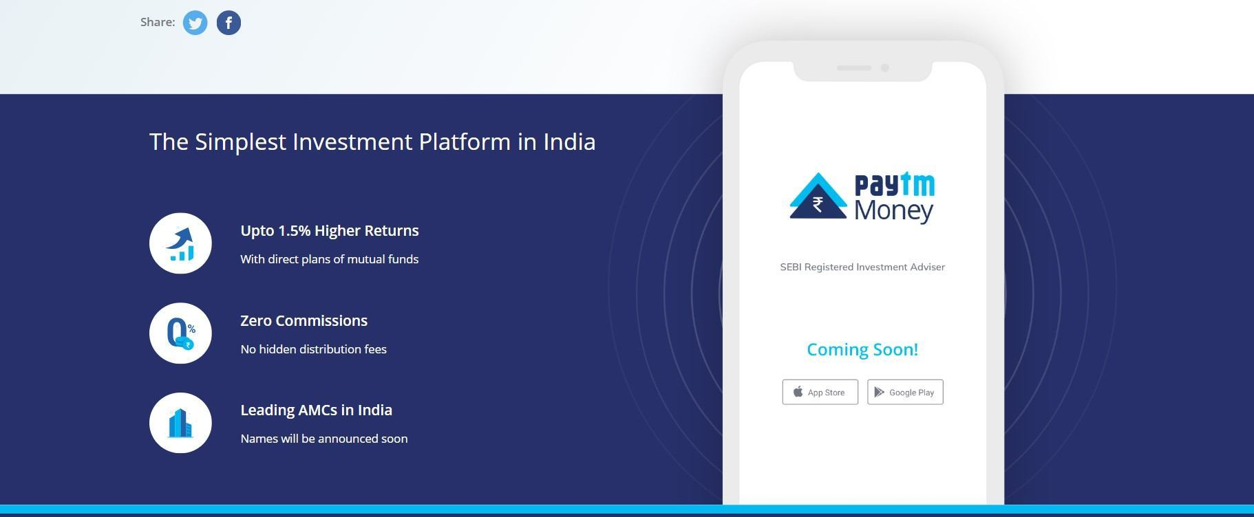 Now You Can Buy Mutual Funds From Paytm | Click It or Not