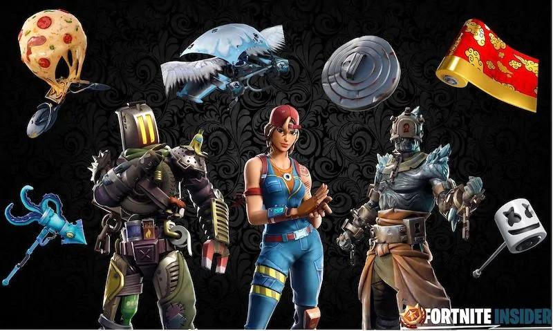 Fortnite New Skins Leaked Out | Click It or Not