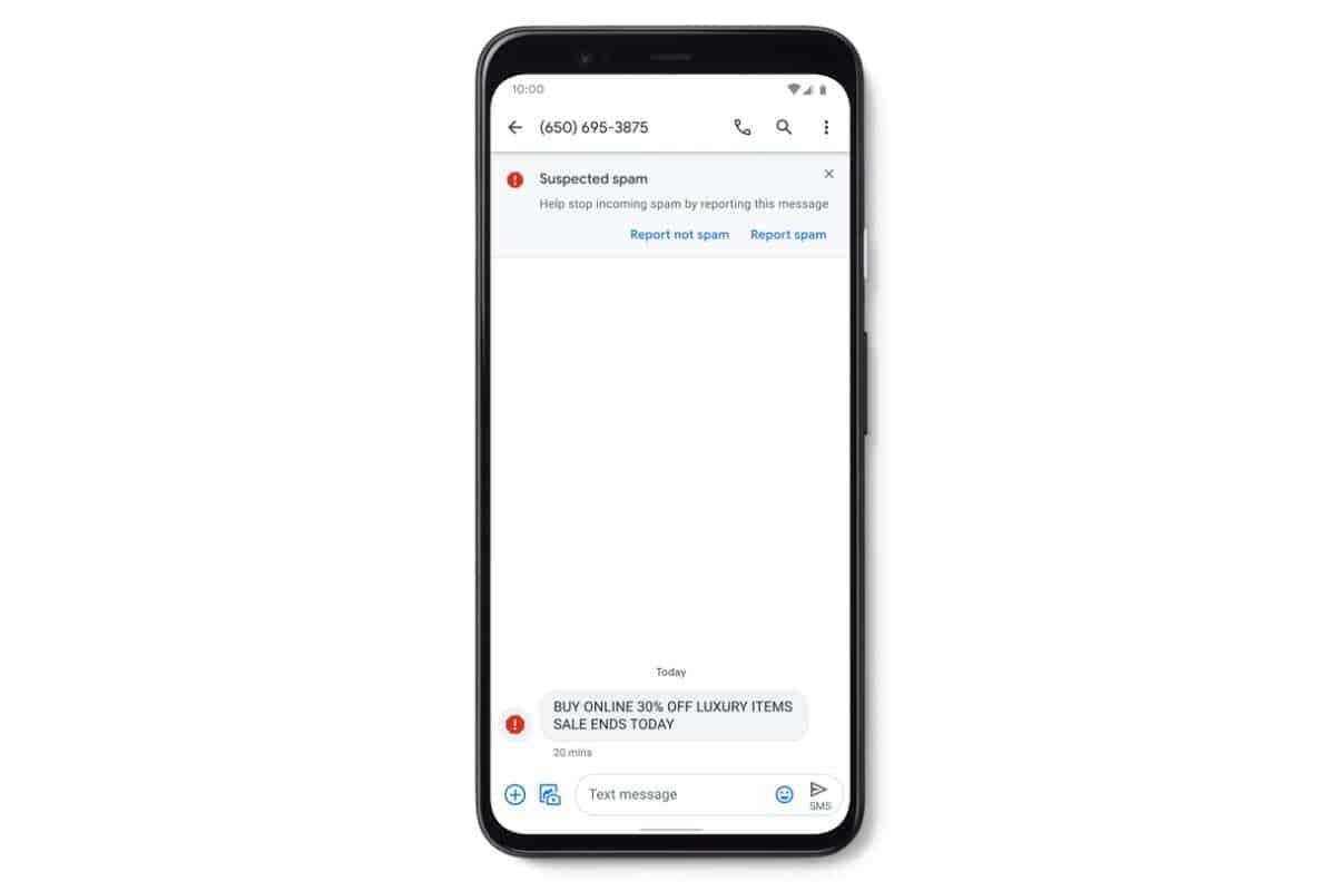 Google Messages App Verified SMS