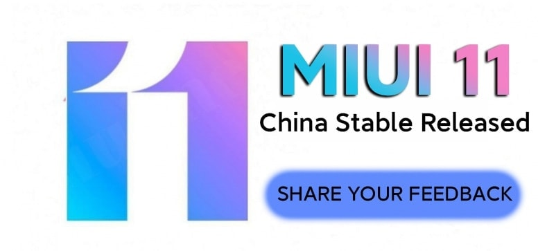 MIUI 11 China stable version V11.0.5.0.QFACNXM