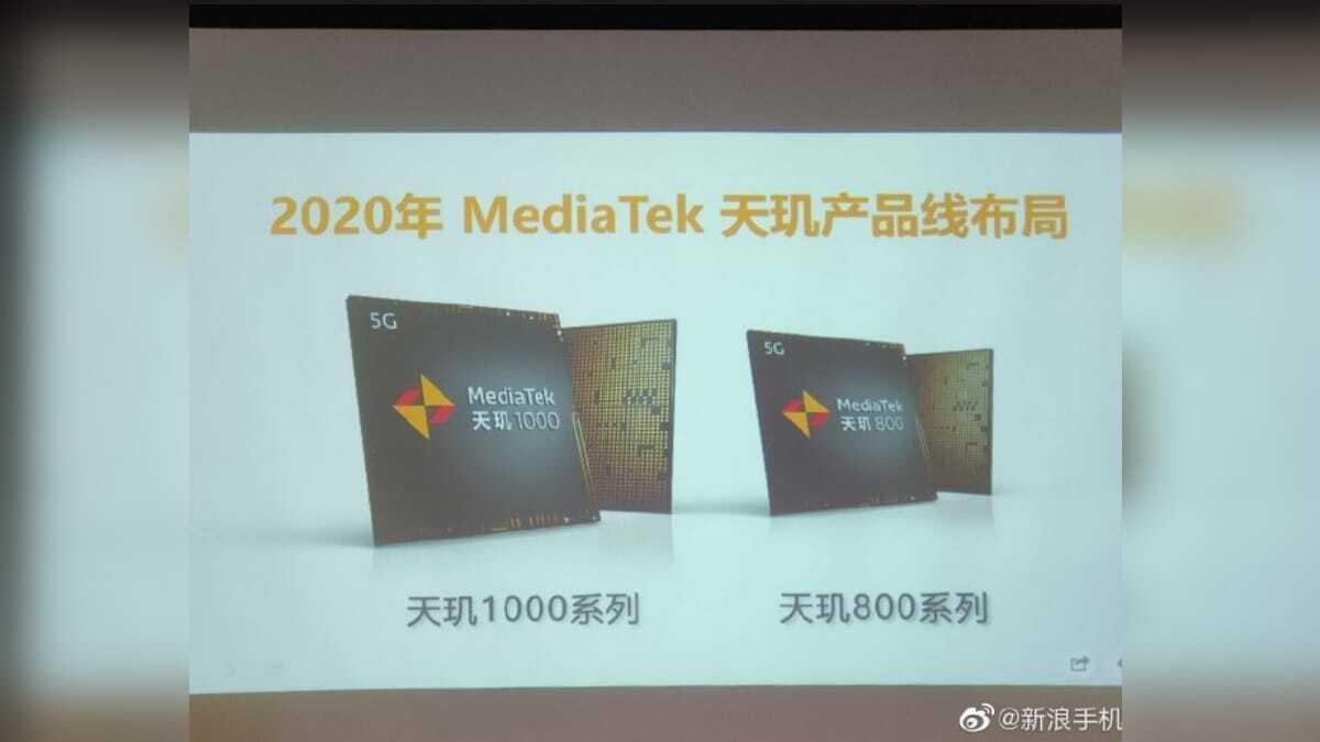 MediaTek Dimensity 800 5G SoC