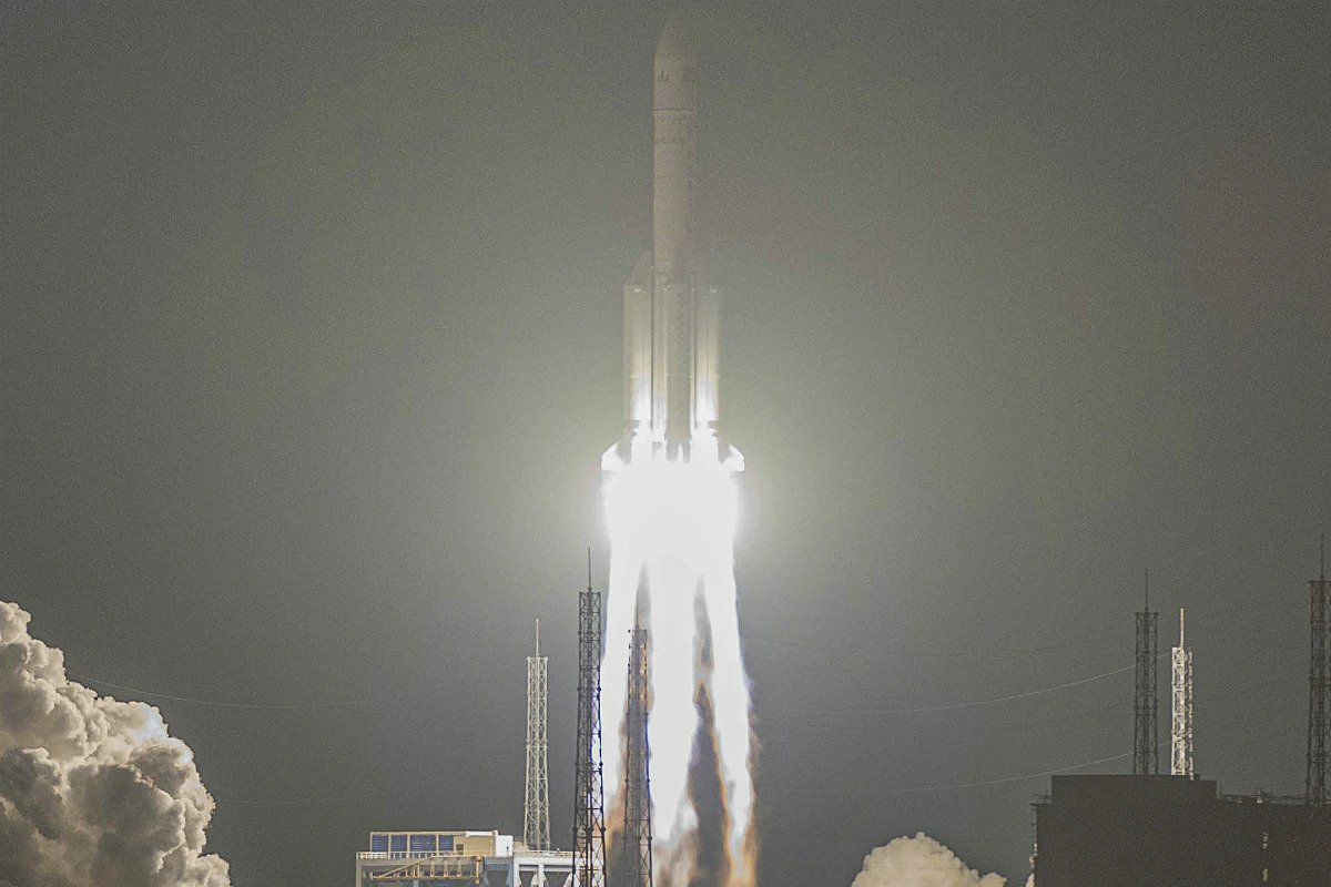China's Long March 5 mission