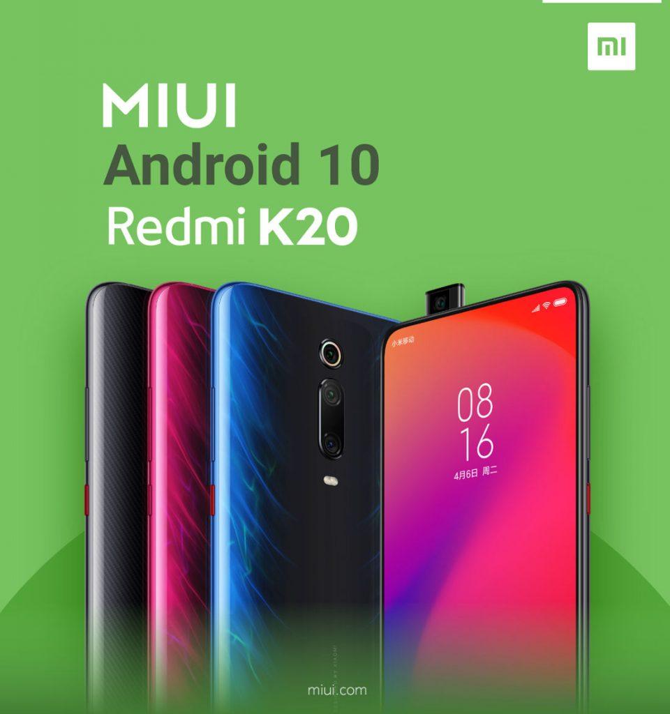 Android 10 for Redmi K20, Mi9T