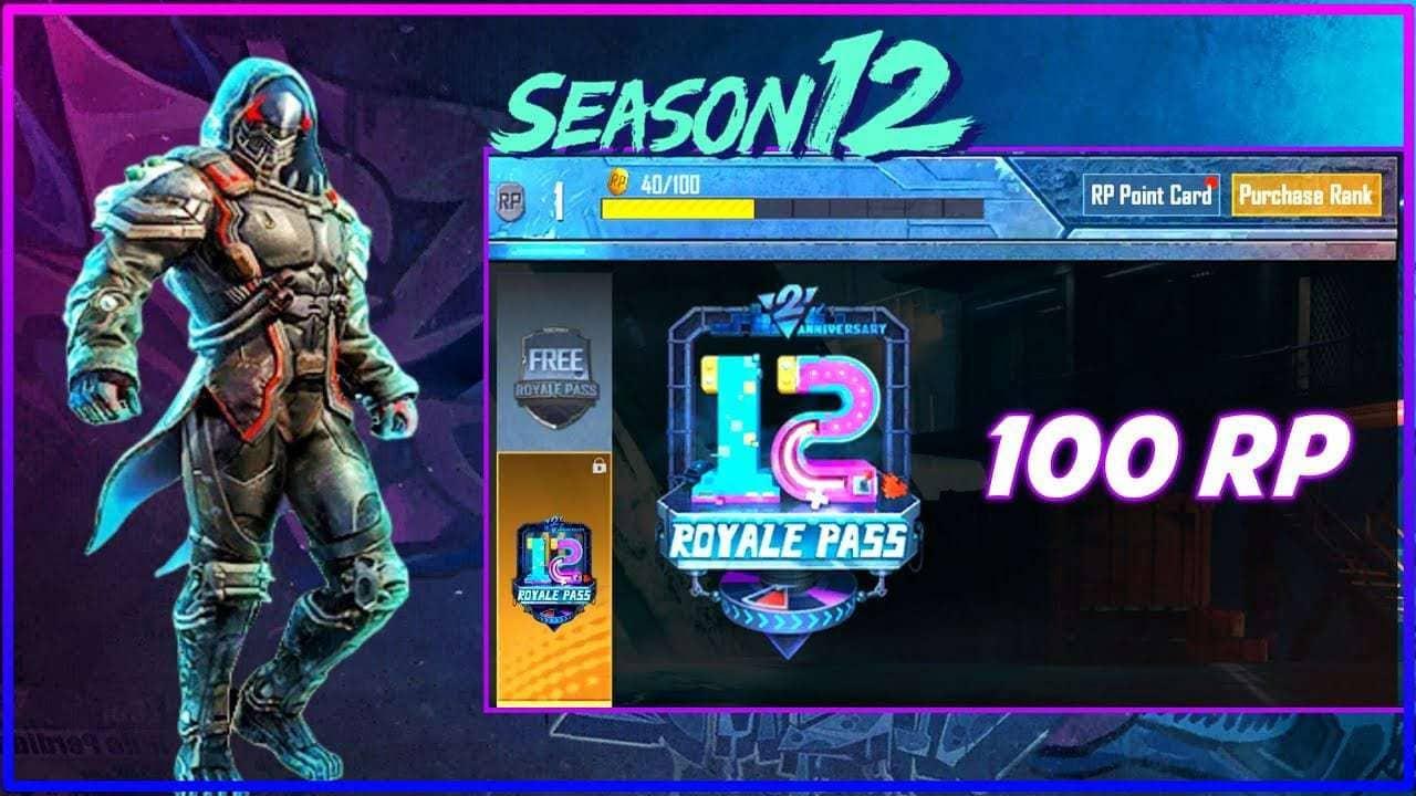 PUBG Mobile Season-12 Royale pass