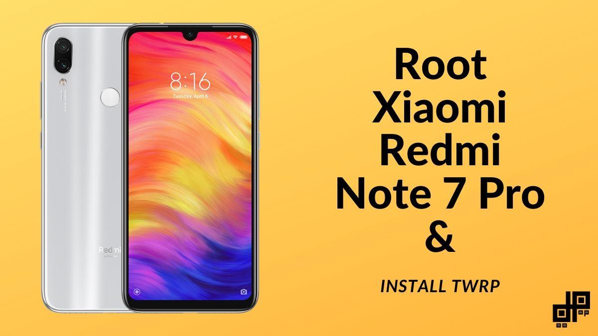 Redmi note 7 Pro root