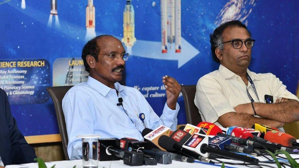 ISRO chief K.Sivan