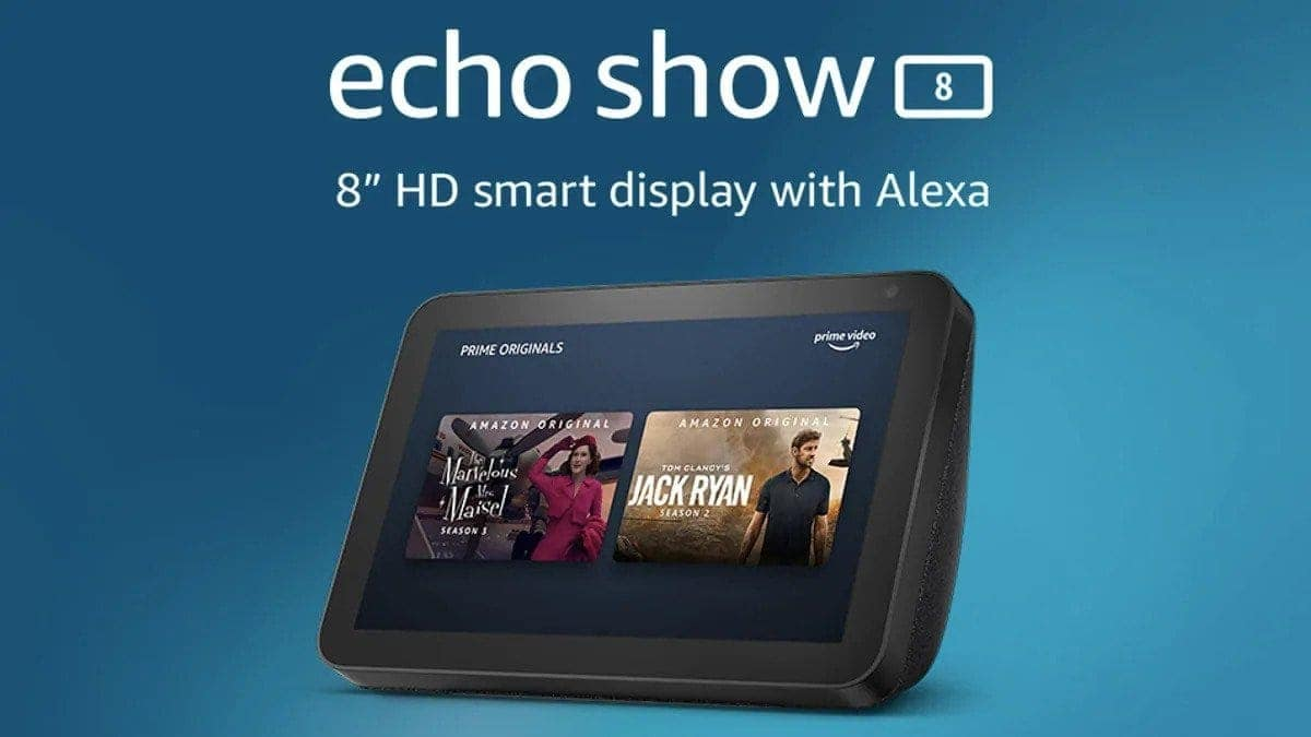 Amazon Echo Show 8 launched in India