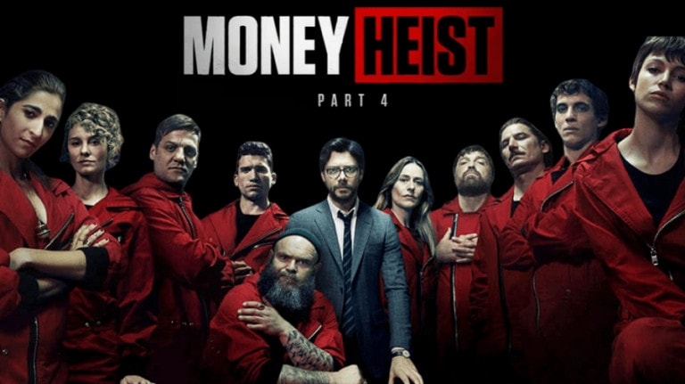 Money Heist Season 4 released on Netflix today