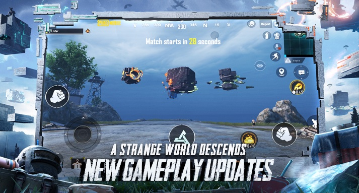 Download PUBG MOBILE 1.2 APK and OBB File with RUNIC POWER