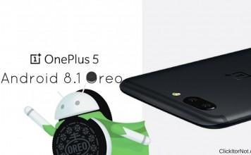 Android 8.1 Oreo on OnePlus 5